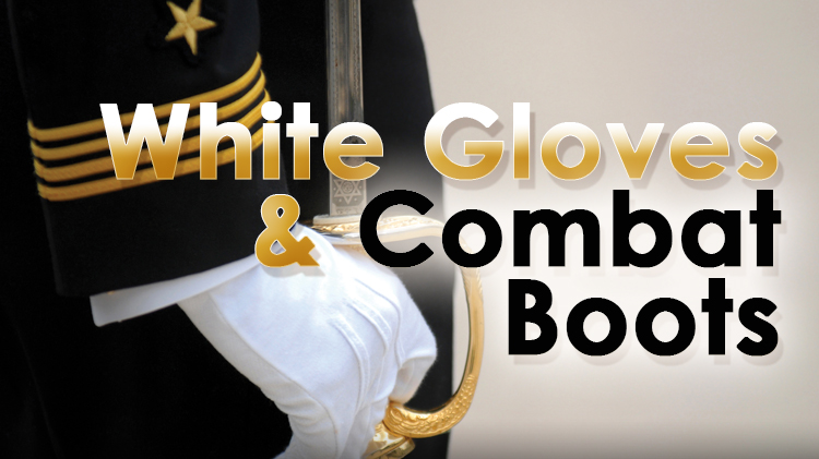White Gloves & Combat Boots