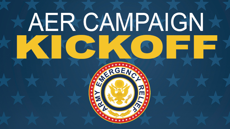 Army Emergency Relief Kickoff