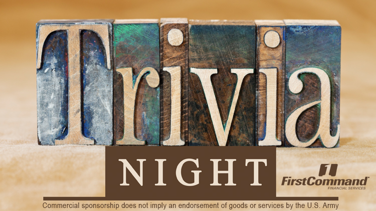 Sustainers' Pub Trivia Night