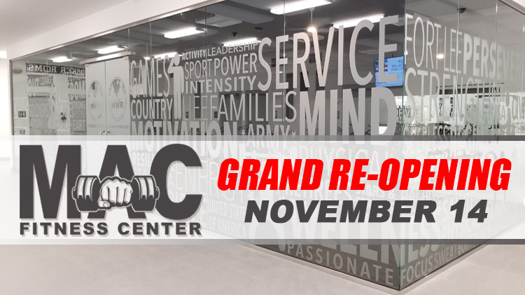 MacLaughlin Fitness Center Grand Re-Opening
