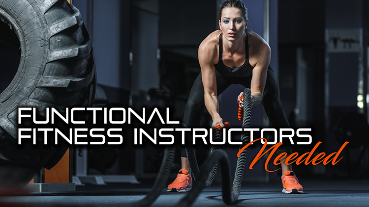 Functional Fitness Instructors Needed