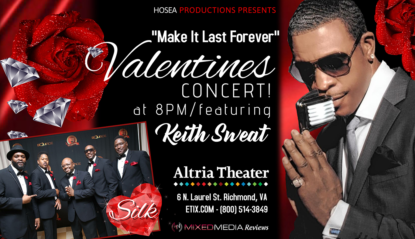 Keith Sweat Concert February 14