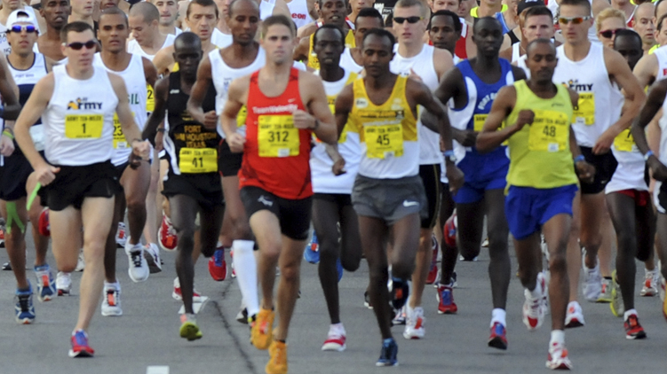 Army Ten-Miler Tryouts