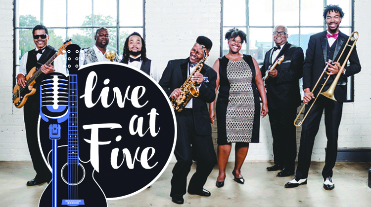 The Smooth Sound of Klaxton Brown at Live at Five