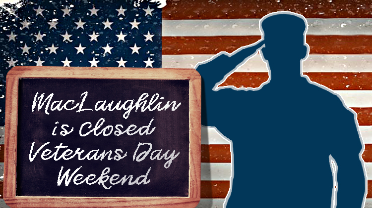 MacLaughlin Fitness Center Closed for Veteran's Day Weekend