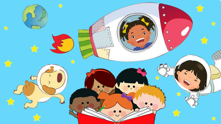 Preschool Story Hour: Fly To Outer Space