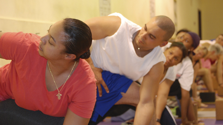 Yoga Class Moves To Strength Performance Center